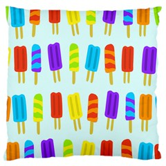 Popsicle Pattern Large Cushion Case (two Sides)
