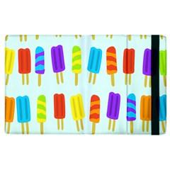 Popsicle Pattern Apple Ipad 3/4 Flip Case