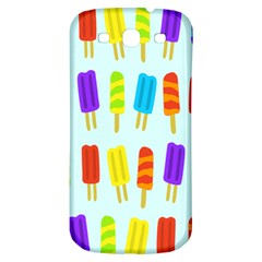 Popsicle Pattern Samsung Galaxy S3 S Iii Classic Hardshell Back Case