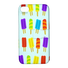 Popsicle Pattern Apple Iphone 4/4s Hardshell Case With Stand