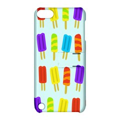 Popsicle Pattern Apple Ipod Touch 5 Hardshell Case With Stand