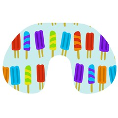 Popsicle Pattern Travel Neck Pillows