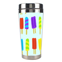 Popsicle Pattern Stainless Steel Travel Tumblers