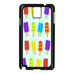 Popsicle Pattern Samsung Galaxy Note 3 N9005 Case (black)