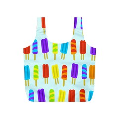 Popsicle Pattern Full Print Recycle Bags (s)