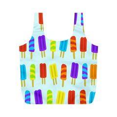 Popsicle Pattern Full Print Recycle Bags (M)