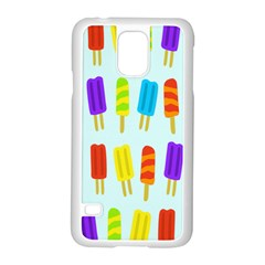 Popsicle Pattern Samsung Galaxy S5 Case (White)