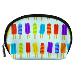 Popsicle Pattern Accessory Pouches (Large)
