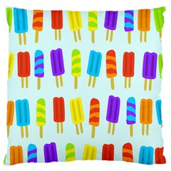 Popsicle Pattern Standard Flano Cushion Case (one Side)