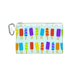 Popsicle Pattern Canvas Cosmetic Bag (s)
