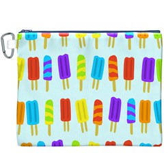 Popsicle Pattern Canvas Cosmetic Bag (xxxl)