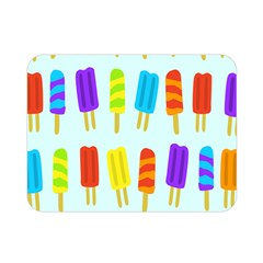 Popsicle Pattern Double Sided Flano Blanket (mini)