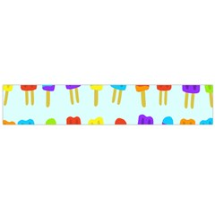 Popsicle Pattern Flano Scarf (large)