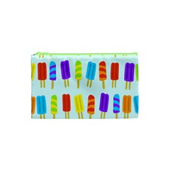 Popsicle Pattern Cosmetic Bag (xs)