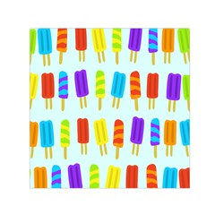 Popsicle Pattern Small Satin Scarf (square)
