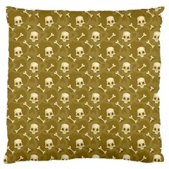 Skull Pattern 1 Standard Flano Cushion Case (one Side)
