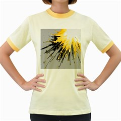 Big bang Women s Fitted Ringer T-Shirts