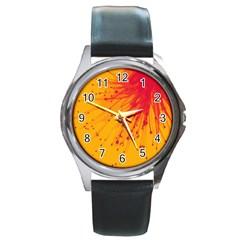 Big Bang Round Metal Watch