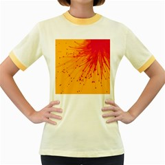 Big Bang Women s Fitted Ringer T Shirts