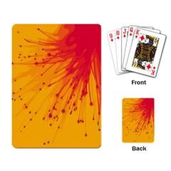Big Bang Playing Card