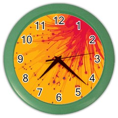 Big Bang Color Wall Clocks