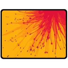 Big Bang Fleece Blanket (large)