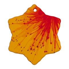 Big Bang Ornament (snowflake)