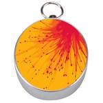 Big bang Silver Compasses Front