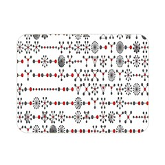 Bioplex Maps Molecular Chemistry Of Mathematical Physics Small Army Circle Double Sided Flano Blanket (Mini)
