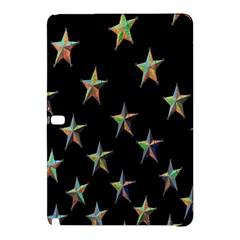 Colorful Gold Star Christmas Samsung Galaxy Tab Pro 10 1 Hardshell Case