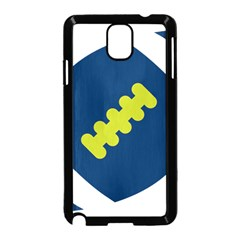 Football America Blue Green White Sport Samsung Galaxy Note 3 Neo Hardshell Case (black)