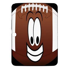 Happy Football Clipart Excellent Illustration Face Samsung Galaxy Tab 3 (10 1 ) P5200 Hardshell Case