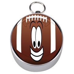 Happy Football Clipart Excellent Illustration Face Silver Compasses