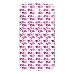 Heart Love Pink Purple Samsung Galaxy Mega I9200 Hardshell Back Case