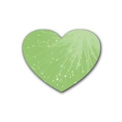 Big Bang Rubber Coaster (heart)