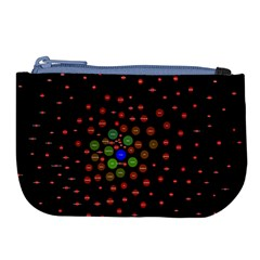 Molecular Chemistry Of Mathematical Physics Small Army Circle Large Coin Purse