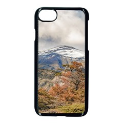Forest And Snowy Mountains, Patagonia, Argentina Apple Iphone 7 Seamless Case (black)