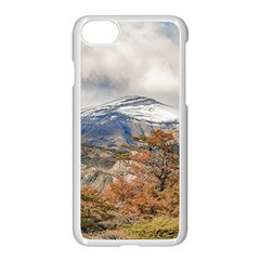 Forest And Snowy Mountains, Patagonia, Argentina Apple Iphone 7 Seamless Case (white)