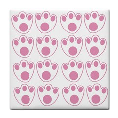 Rabbit Feet Paw Pink Foot Animals Face Towel
