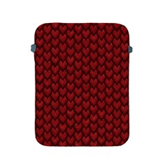 Red Snakeskin Snak Skin Animals Apple Ipad 2/3/4 Protective Soft Cases