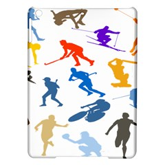Sport Player Playing Ipad Air Hardshell Cases