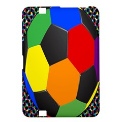 Team Soccer Coming Out Tease Ball Color Rainbow Sport Kindle Fire Hd 8 9