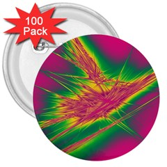 Big Bang 3  Buttons (100 Pack)
