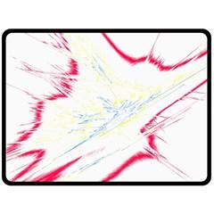 Big Bang Double Sided Fleece Blanket (large)