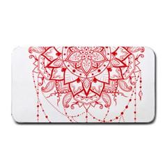 Mandala Pretty Design Pattern Medium Bar Mats