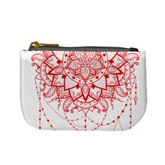 Mandala Pretty Design Pattern Mini Coin Purses