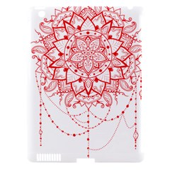 Mandala Pretty Design Pattern Apple iPad 3/4 Hardshell Case (Compatible with Smart Cover)