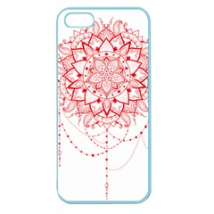 Mandala Pretty Design Pattern Apple Seamless Iphone 5 Case (color)