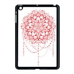 Mandala Pretty Design Pattern Apple iPad Mini Case (Black)