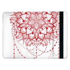 Mandala Pretty Design Pattern Samsung Galaxy Tab Pro 12 2  Flip Case